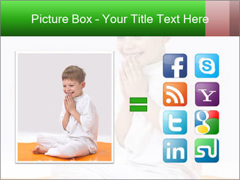 Children's yoga PowerPoint Templates - Slide 21