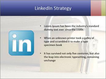 Key lock PowerPoint Template - Slide 12