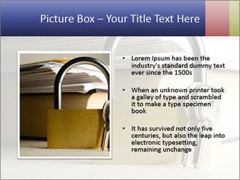 Key lock PowerPoint Template - Slide 13