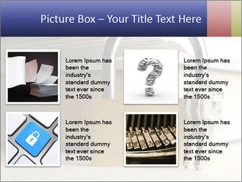 Key lock PowerPoint Template - Slide 14