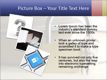 Key lock PowerPoint Template - Slide 17