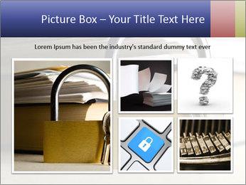 Key lock PowerPoint Template - Slide 19