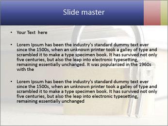 Key lock PowerPoint Template - Slide 2