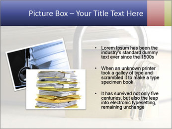 Key lock PowerPoint Template - Slide 20