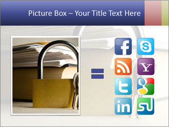 Key lock PowerPoint Template - Slide 21
