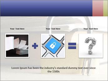 Key lock PowerPoint Template - Slide 22
