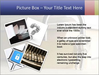 Key lock PowerPoint Template - Slide 23