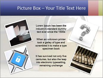 Key lock PowerPoint Template - Slide 24