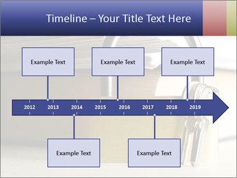 Key lock PowerPoint Template - Slide 28