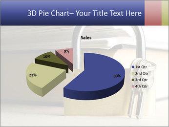 Key lock PowerPoint Template - Slide 35