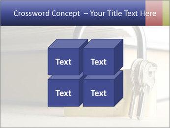 Key lock PowerPoint Template - Slide 39