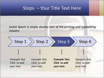 Key lock PowerPoint Template - Slide 4