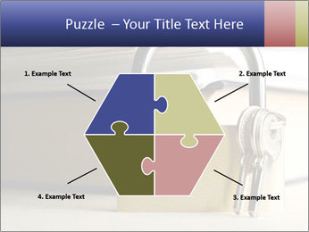 Key lock PowerPoint Template - Slide 40