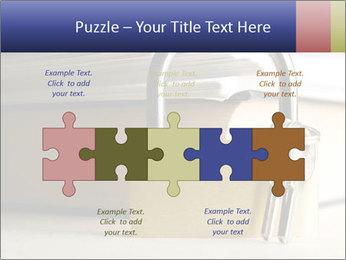 Key lock PowerPoint Template - Slide 41