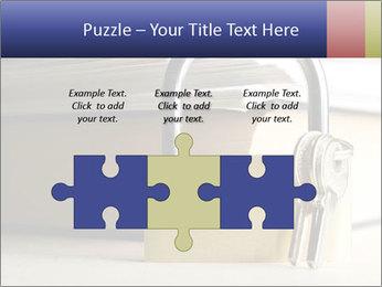 Key lock PowerPoint Template - Slide 42