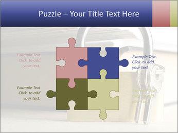 Key lock PowerPoint Template - Slide 43