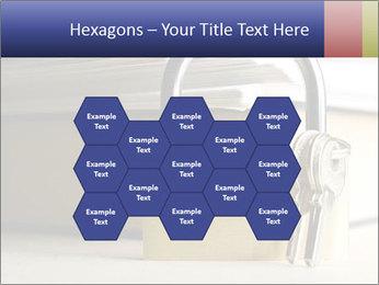 Key lock PowerPoint Template - Slide 44