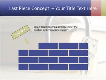 Key lock PowerPoint Template - Slide 46
