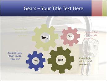 Key lock PowerPoint Template - Slide 47