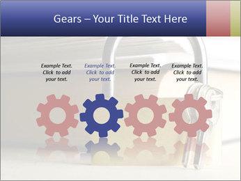 Key lock PowerPoint Template - Slide 48