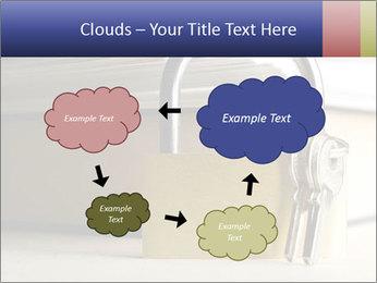 Key lock PowerPoint Template - Slide 72