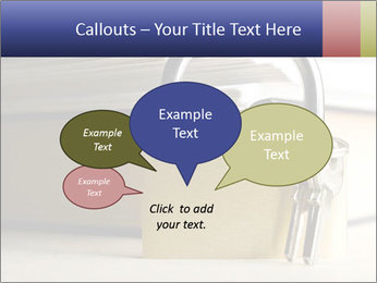 Key lock PowerPoint Template - Slide 73