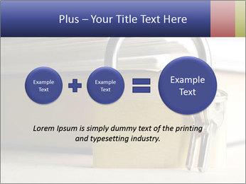 Key lock PowerPoint Template - Slide 75