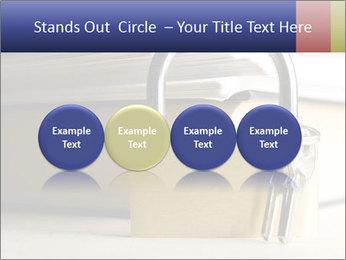 Key lock PowerPoint Template - Slide 76