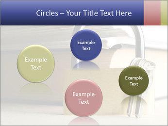 Key lock PowerPoint Template - Slide 77