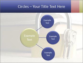 Key lock PowerPoint Template - Slide 79