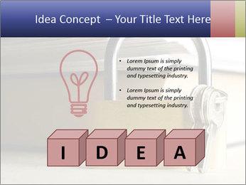Key lock PowerPoint Template - Slide 80