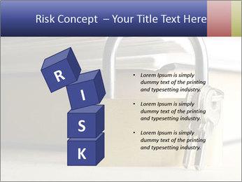 Key lock PowerPoint Template - Slide 81