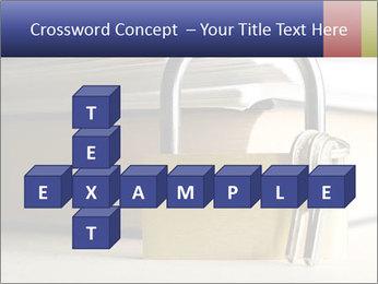 Key lock PowerPoint Template - Slide 82