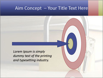 Key lock PowerPoint Template - Slide 83