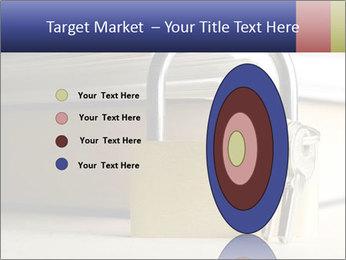 Key lock PowerPoint Template - Slide 84
