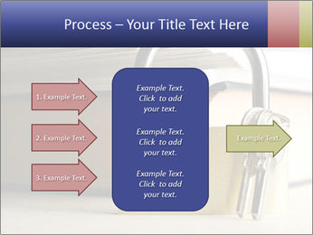 Key lock PowerPoint Template - Slide 85