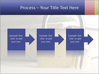 Key lock PowerPoint Template - Slide 88