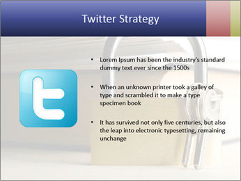 Key lock PowerPoint Template - Slide 9