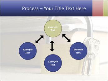 Key lock PowerPoint Template - Slide 91