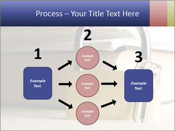 Key lock PowerPoint Template - Slide 92