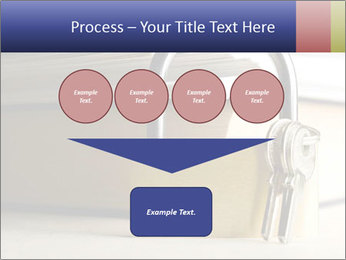 Key lock PowerPoint Template - Slide 93