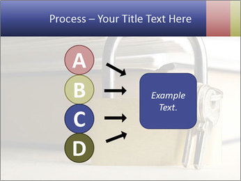 Key lock PowerPoint Template - Slide 94
