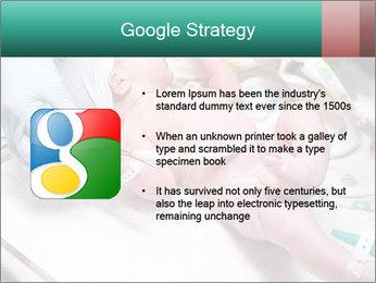 Newborn cute infant baby PowerPoint Template - Slide 10