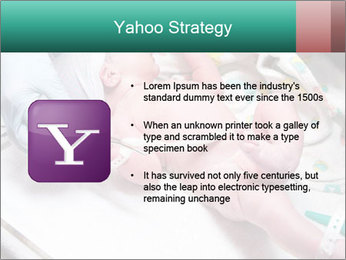 Newborn cute infant baby PowerPoint Templates - Slide 11