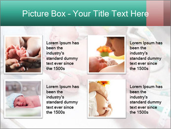 Newborn cute infant baby PowerPoint Template - Slide 14