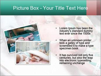 Newborn cute infant baby PowerPoint Template - Slide 20