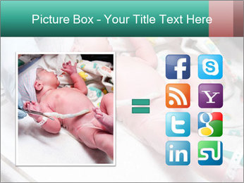 Newborn cute infant baby PowerPoint Templates - Slide 21