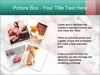 Newborn cute infant baby PowerPoint Template - Slide 23