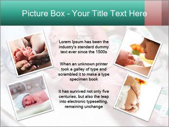 Newborn cute infant baby PowerPoint Template - Slide 24