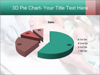 Newborn cute infant baby PowerPoint Template - Slide 35